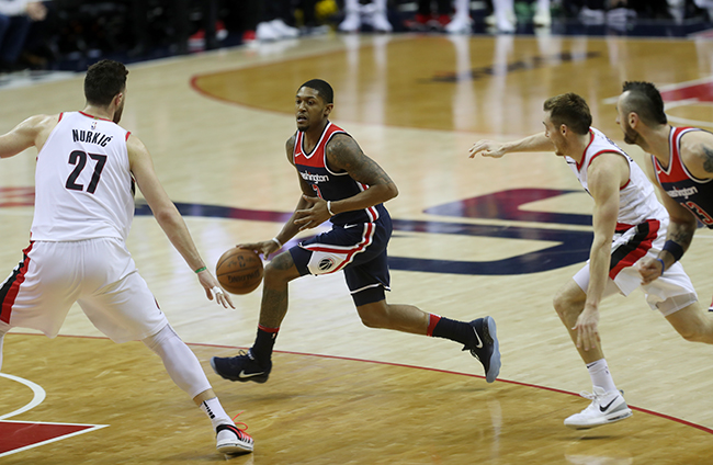 Wizards Let One Slip Away in Final Minute, Portland Hits Key Shots in 108-105 Victory