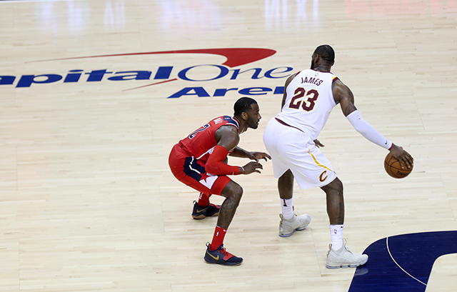 King James Show Hits D.C., Lebron Hits for 57 Defeating Wizards, 130-122
