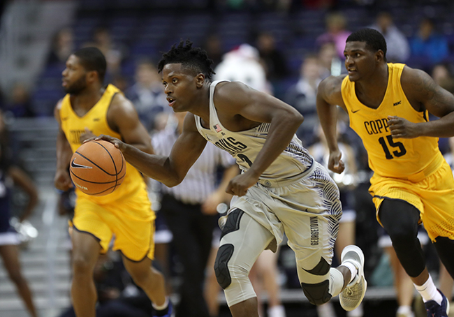 Hoyas Hold Off Coppin State, 76-60 to Stay Undefeated