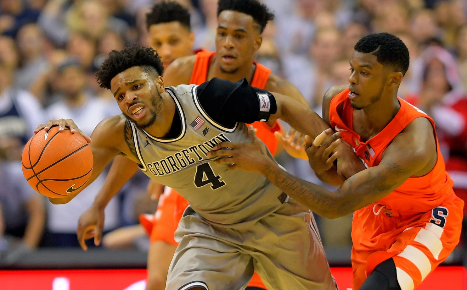 Hoyas Squeeze Cuse In Best Game of Season, Fall Short in Overtime, 86-79
