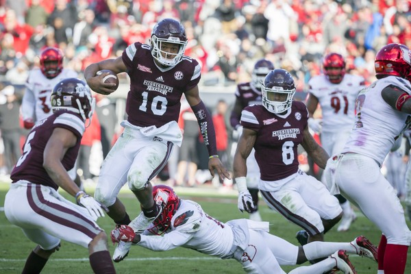 Mississippi State Holds of Late Louisville Charge to Win Tax Slayer Bowl, 31-27