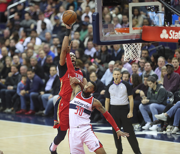 Wizards Survive 25 Point Comeback to Defeat Pelicans, 116-106