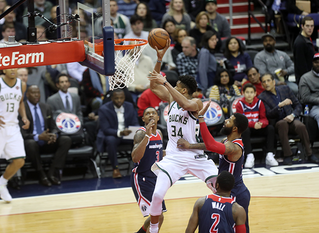 Wizards Fall to Bucks For Second Time in Just 10 Days, 104-95