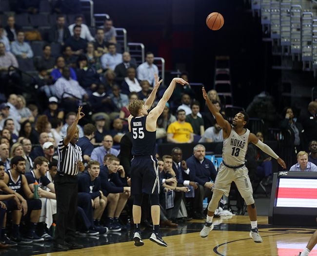 Hoyas Give Xavier a Ride, But Not Good Enough in 89-77 Loss