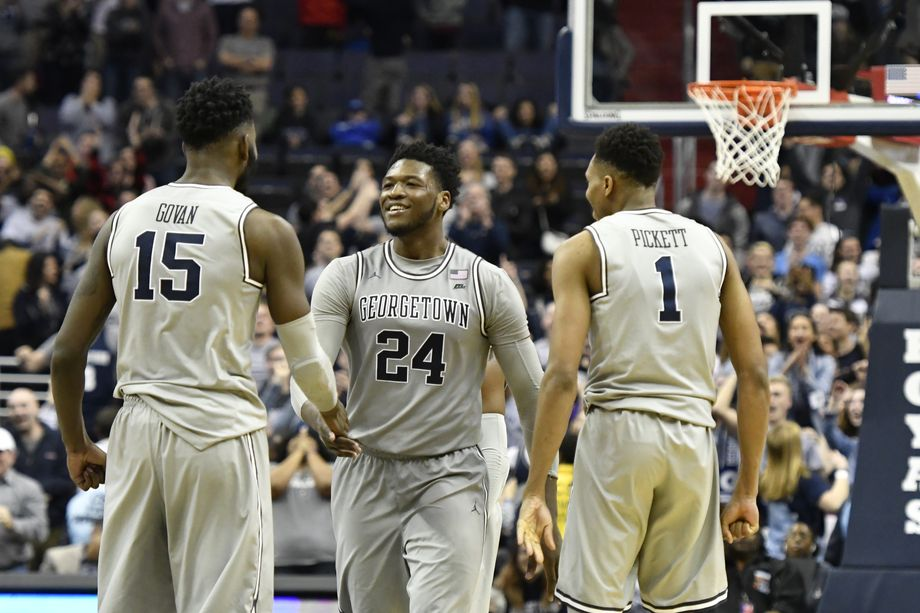 Georgetown Outlasts Seton Hall, 80-78 Courtesy of Marcus Derrickson