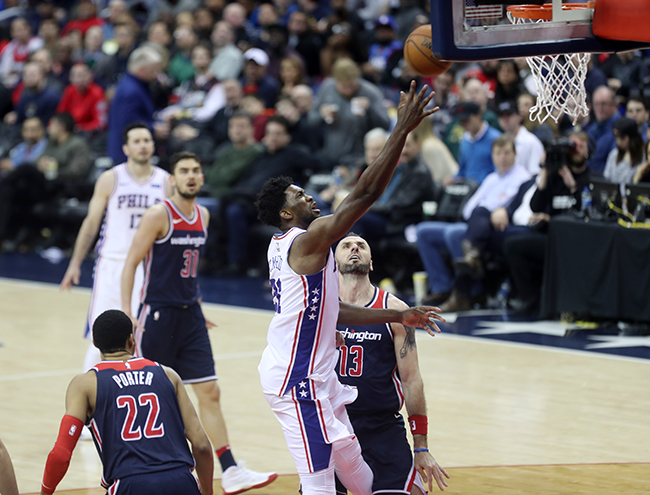 Wizards Hold Off Tough Sixers Fourth Quarter Effort to Snap Their 8 Game Winning Streak