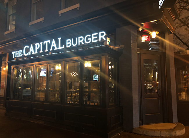 The Capital Burger, The Most Amazing Things Between Two Buns Hits Downtown D.C