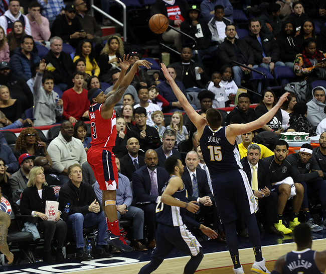 Wizards Fall to Playoff Hopeful Nuggets, 108-100