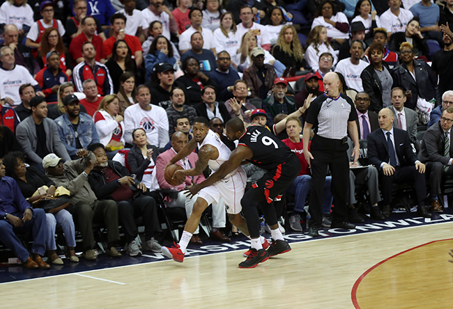 Wizards Stay Alive With Assertive Game 3 Victory Over the Raptors, 122-103