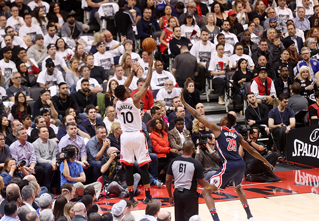Raptors Unleash Too Much for Wizards to Handle in Game 2, Series Heads to D.C With Washington Down, 0-2