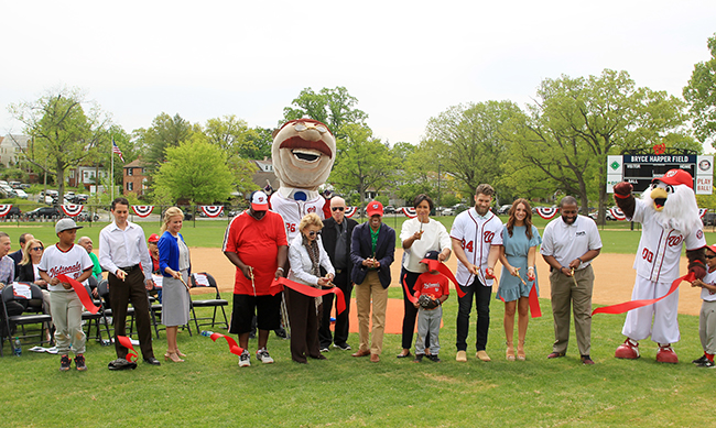 Bryce Harper Field Will Be A Standing Symbol of Youth Baseball in Washington, D.C.