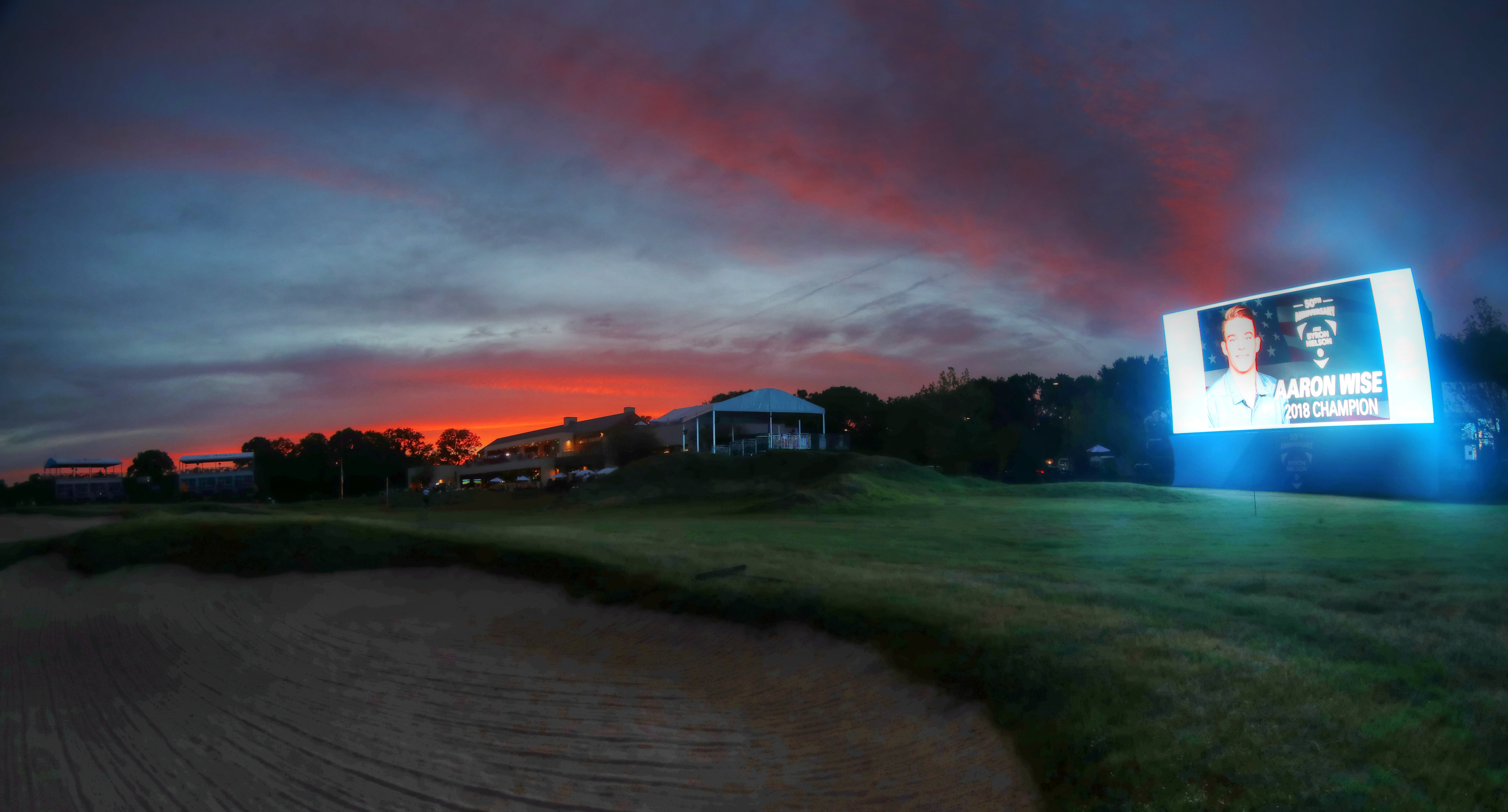 Aaron Wise Weather's the Storm, Takes Byron Nelson Classic Trophy As Final Rays of Light Shine