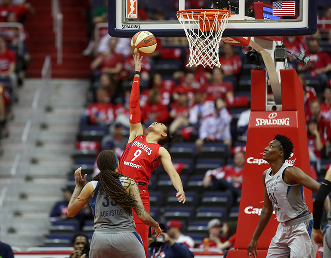 Mystics Fall to Defending Champs Minnesota Lynx, Despite Record Crowd With Caps Fans