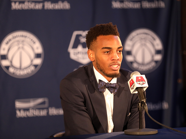 Wizards Introduce Draft Pick Troy Brown Jr.