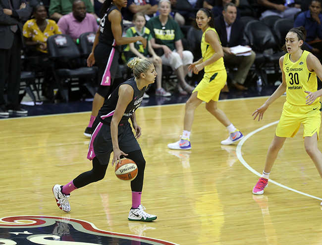 Mystics Look to Advance in Playoffs With Single Game Elimination Against the Sparks