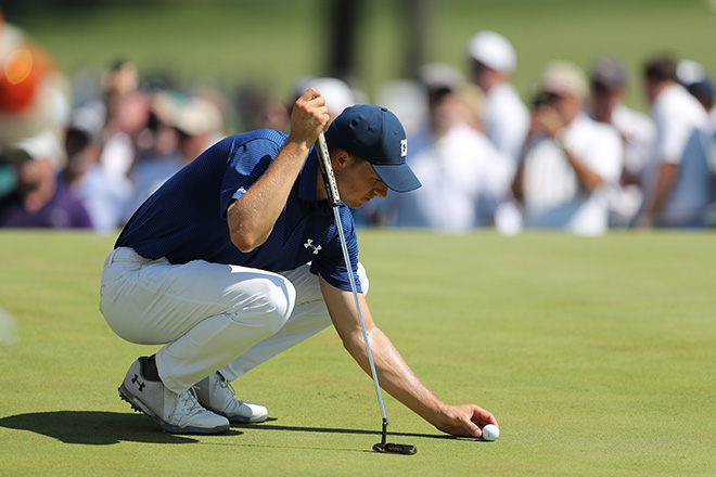 Justin Rose Leads After Third Round of BMW Championship