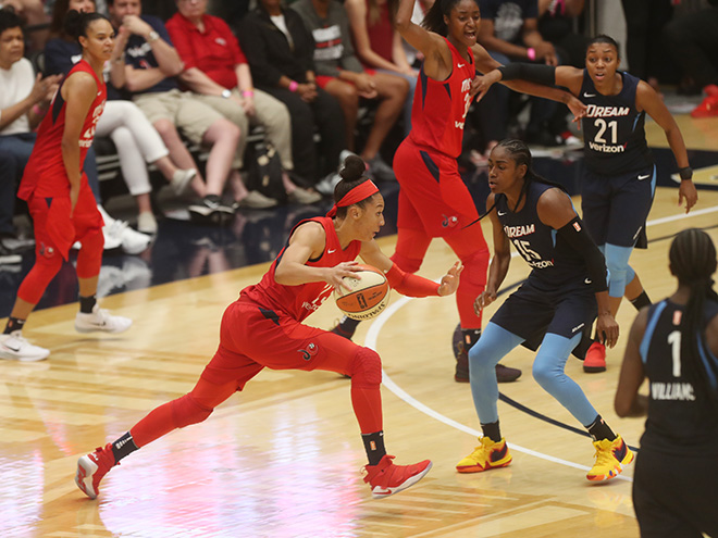 Mystics Stay Close, But Without Delle Donne, Fall Short in Game 3, 81-76