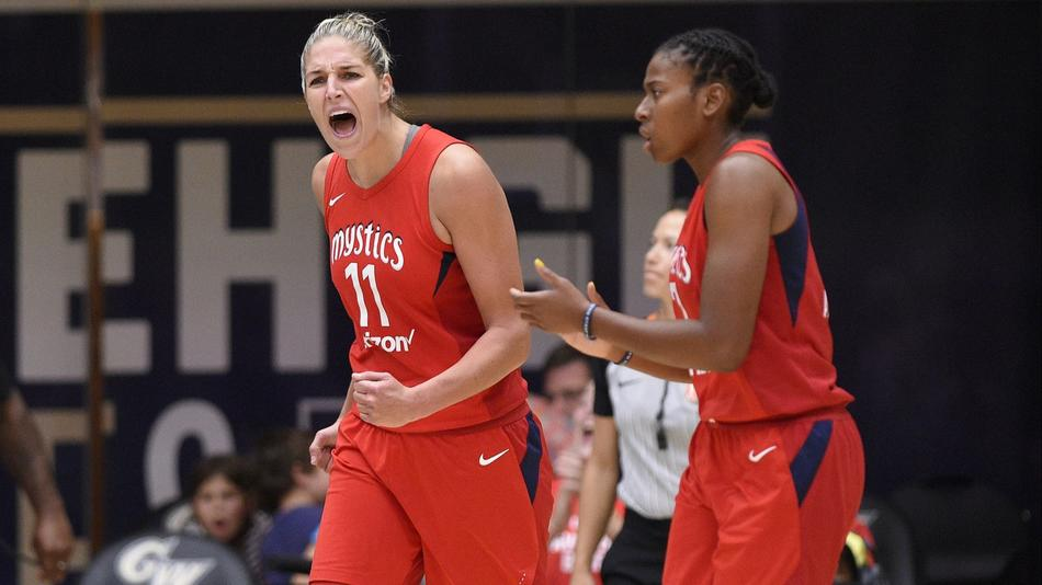 Mystics Shine With Delle Donne Back for Game 4, Set Franchise Record Playoff Points in 97-76 Rout