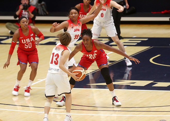USA Womens Fends Off Japan in Fourth Quarter to Grab Another Exhibition Victory, 102-87
