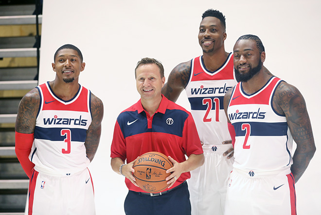 Wizards Kick off 2018-19 Season With New Renewed Optimism About the End Result, Winning!