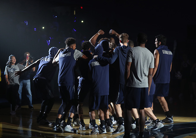 College Basketball is Open For Business at Midnight and Georgetown Means it this Year