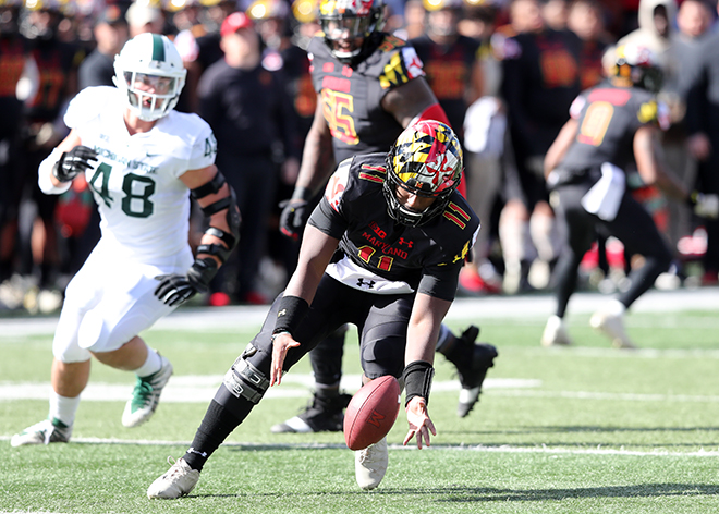 Terps Show No Offense in 24-3 Loss to Michigan State