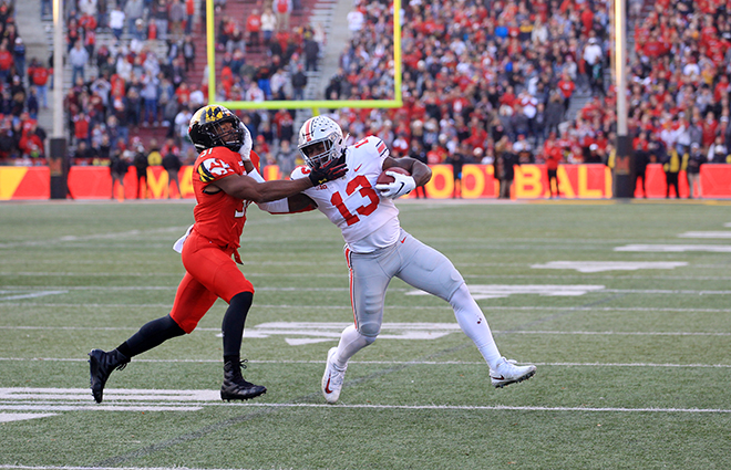 Terps Suffer Second Straight Week of Disappointment at the End, Lost to Ohio State in OT, 52-51