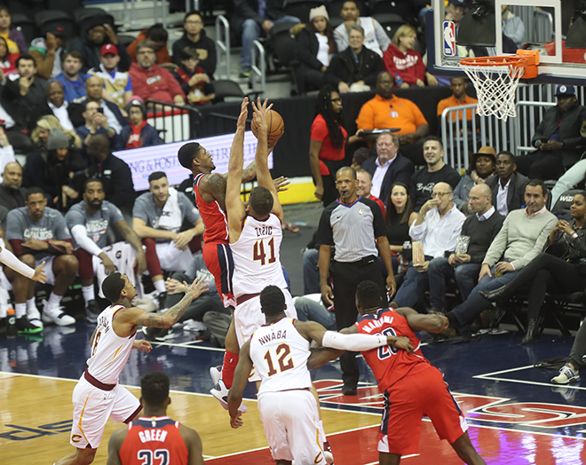 Wizards Continue Winning Ways, Dismantle Hapless Cavs 119-95