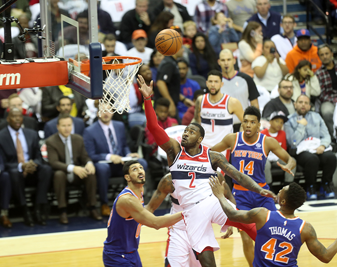 Wizards Finally Grab Second Victory of the Season, Defeat Knicks 108-95