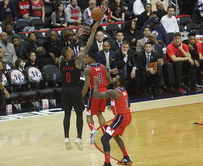 Wizards Fall Behind Early, Never Recover, Fall to Portland, 119-109