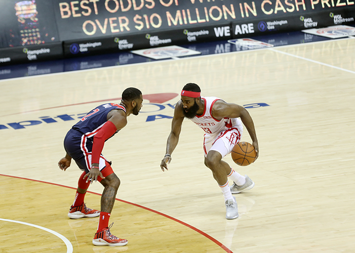 Wizards Take Harden and Rockets Down in Overtime, 135-131