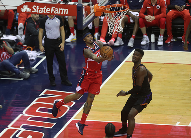 Wizards Win Wild 3 Overtime Victory Over the Suns, 149-146