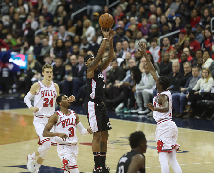 Wizards Fall Short to Woeful Bulls, 101-92