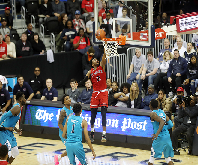 Hoyas Fall Just Short in Overtime to St. Johns, 97-94