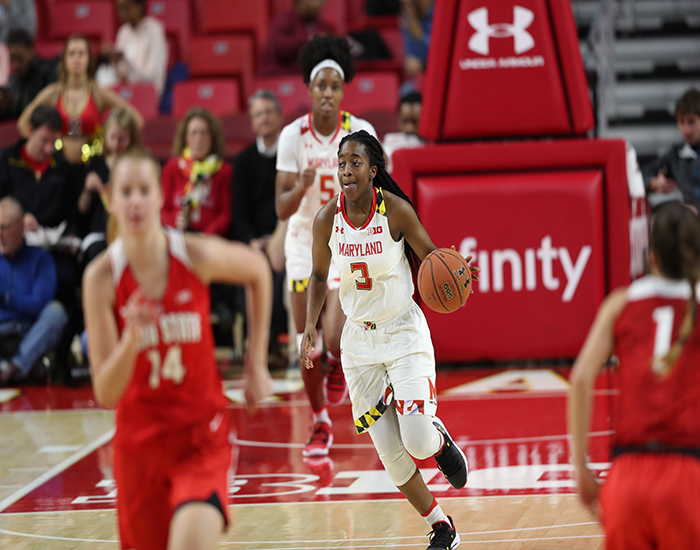 Terps Women Go Down to Wire to Knockoff Ohio State, 75-69