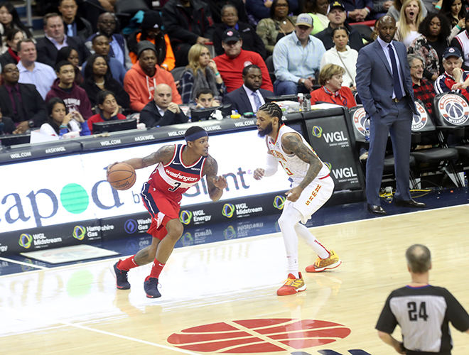 Bradley Beal Picks Once Again Up Wizards in 114-98 Victory Over Hawks