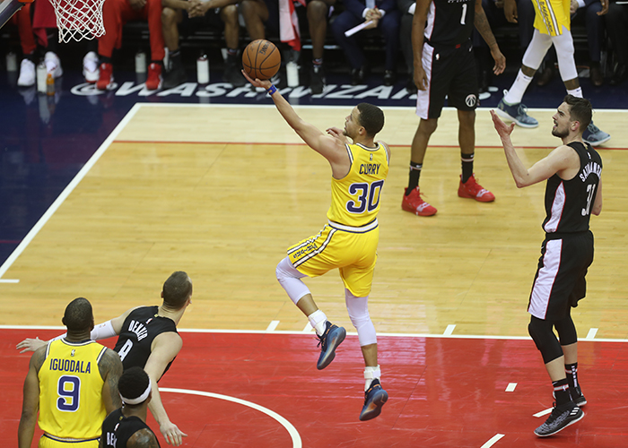 Wizards Hold Strong Against Golden State, Just Can't Finish in 126-118 Loss