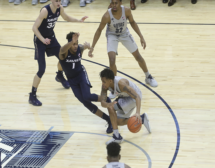 Georgetown Finally Shakes Off Xavier in Total Team Victory