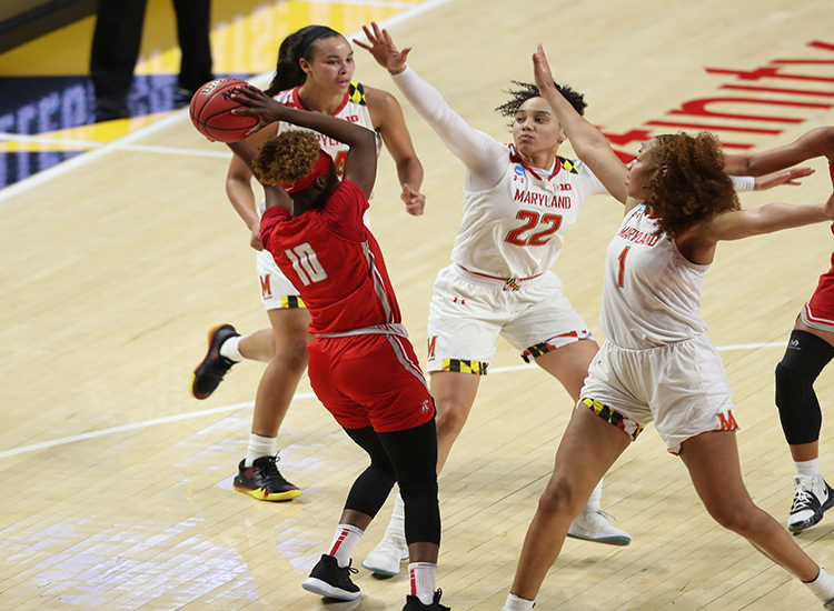 Maryland Women Open NCAA Tournament Strong With 73-51 Victory Over Radford