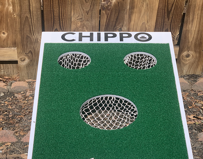 CHIPPO, Forget the Beanbags, Golf Your Way to the Next Backyard Adventure