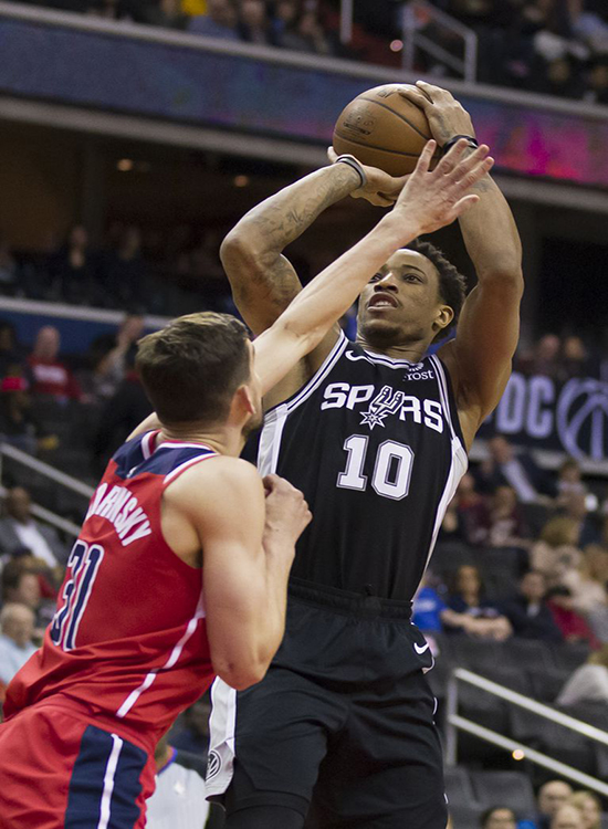Wizards No Match for The Spurs, Lose Another Home Game, 129-112