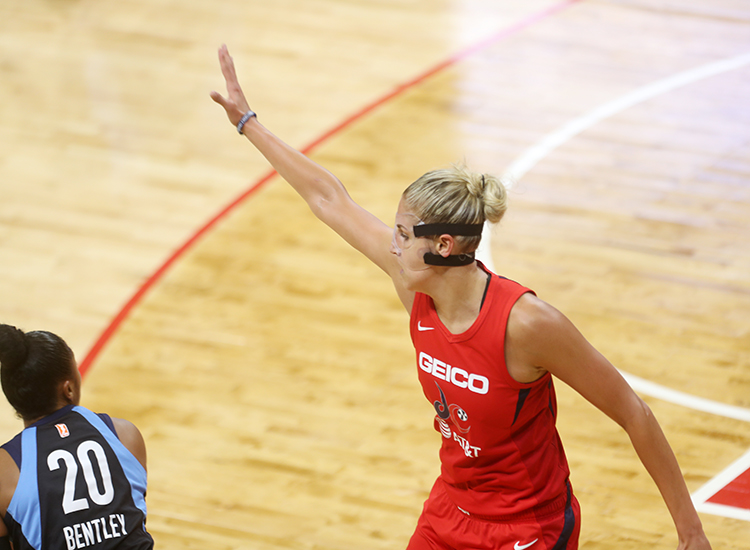 The Masked Lady Does it Again! Elena Delle Donne Helps Mystics to 2 Victory in a Row over Atlanta, 95-63