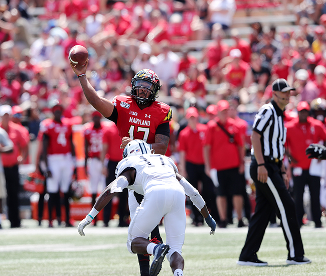 Terps Dismantle Howard, 79-0