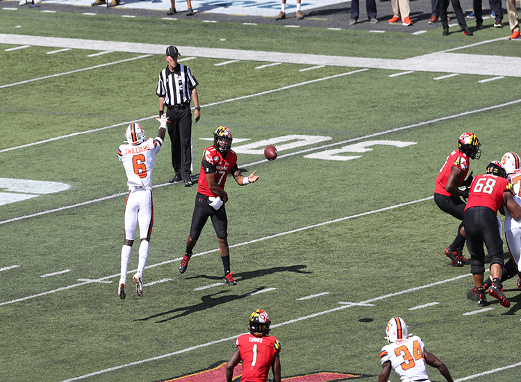 Terps Squeeze Everything Out of the Orange, 63-20