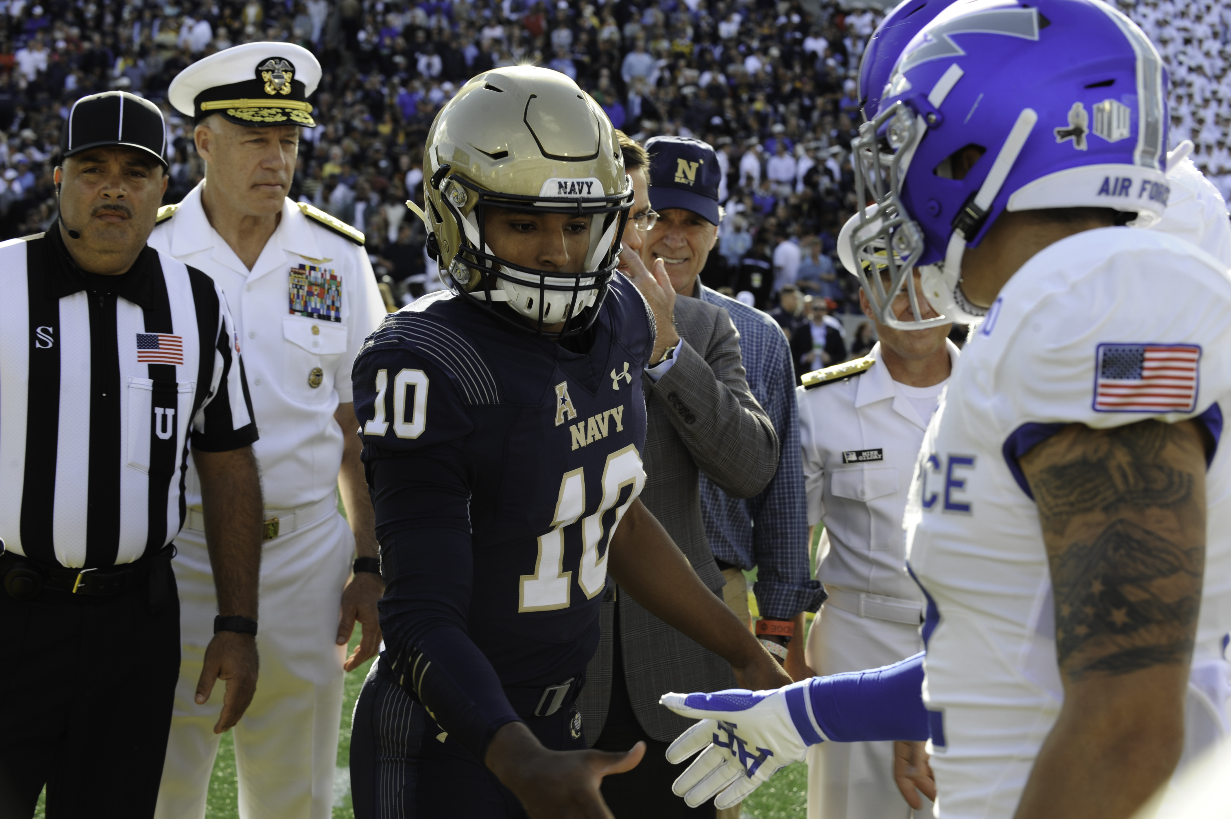 Navy Comes from Behind to Defeat Air Force, Grabs Leg Up on Commander-In-Chief's Trophy with Victory.