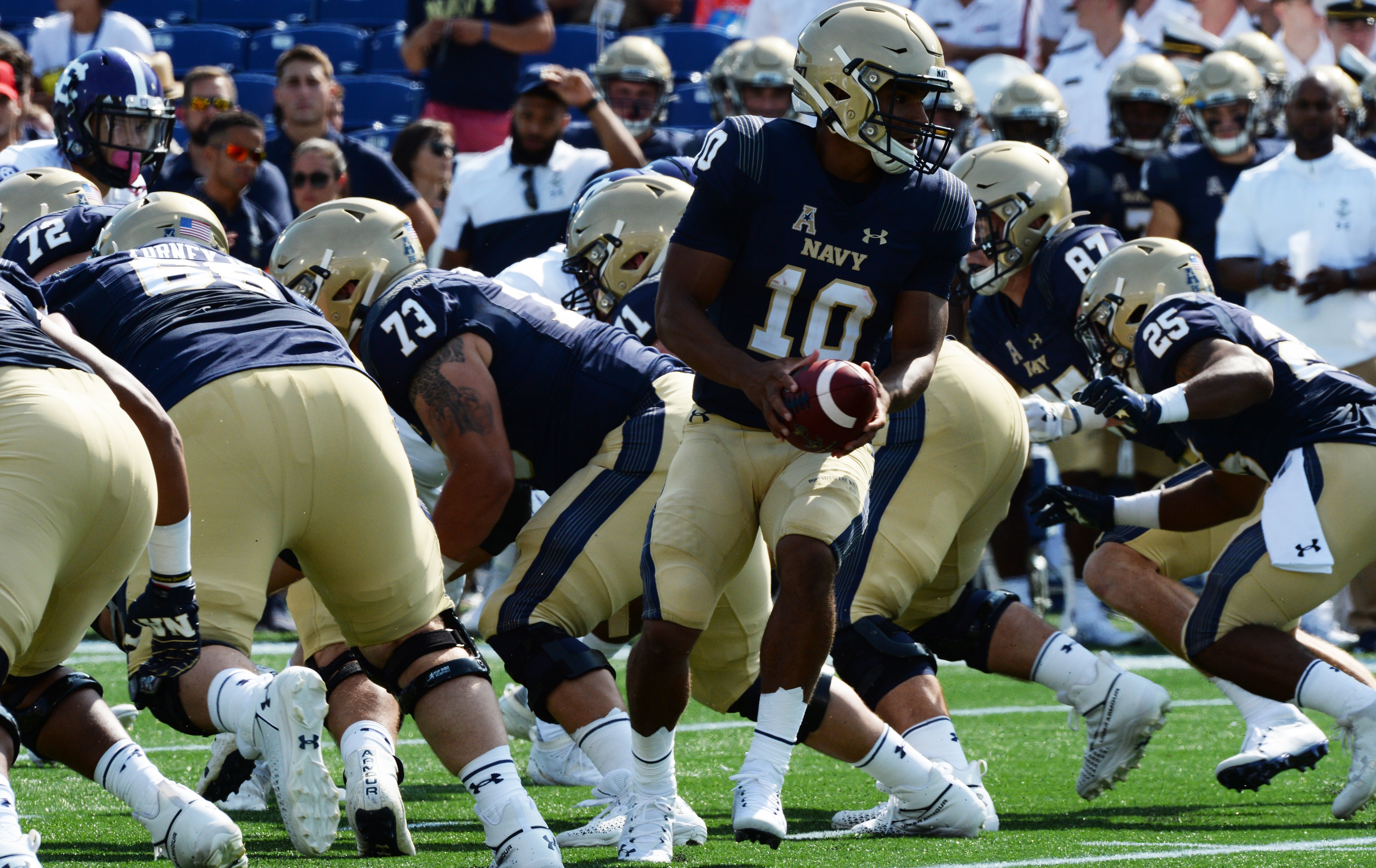 Midshipman Continue to Roll, Crushing South Florida