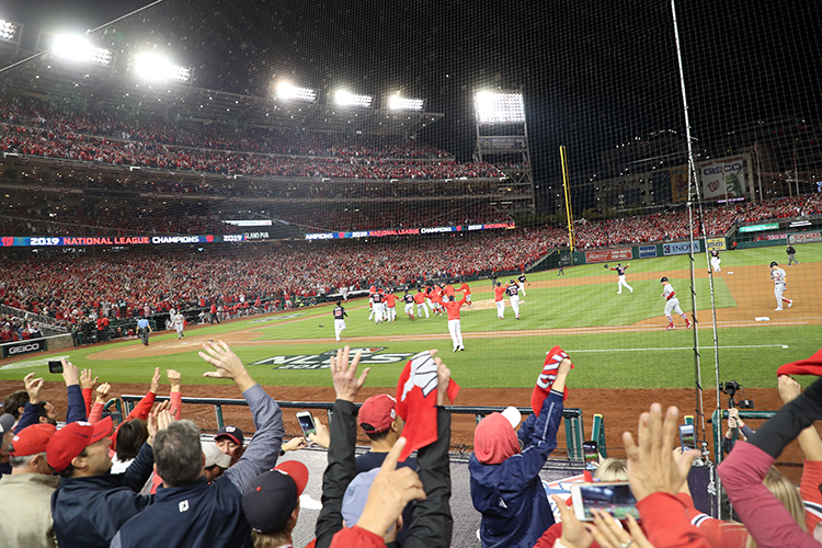 Nationals Advance to World Series.. Finally After 86 Years!