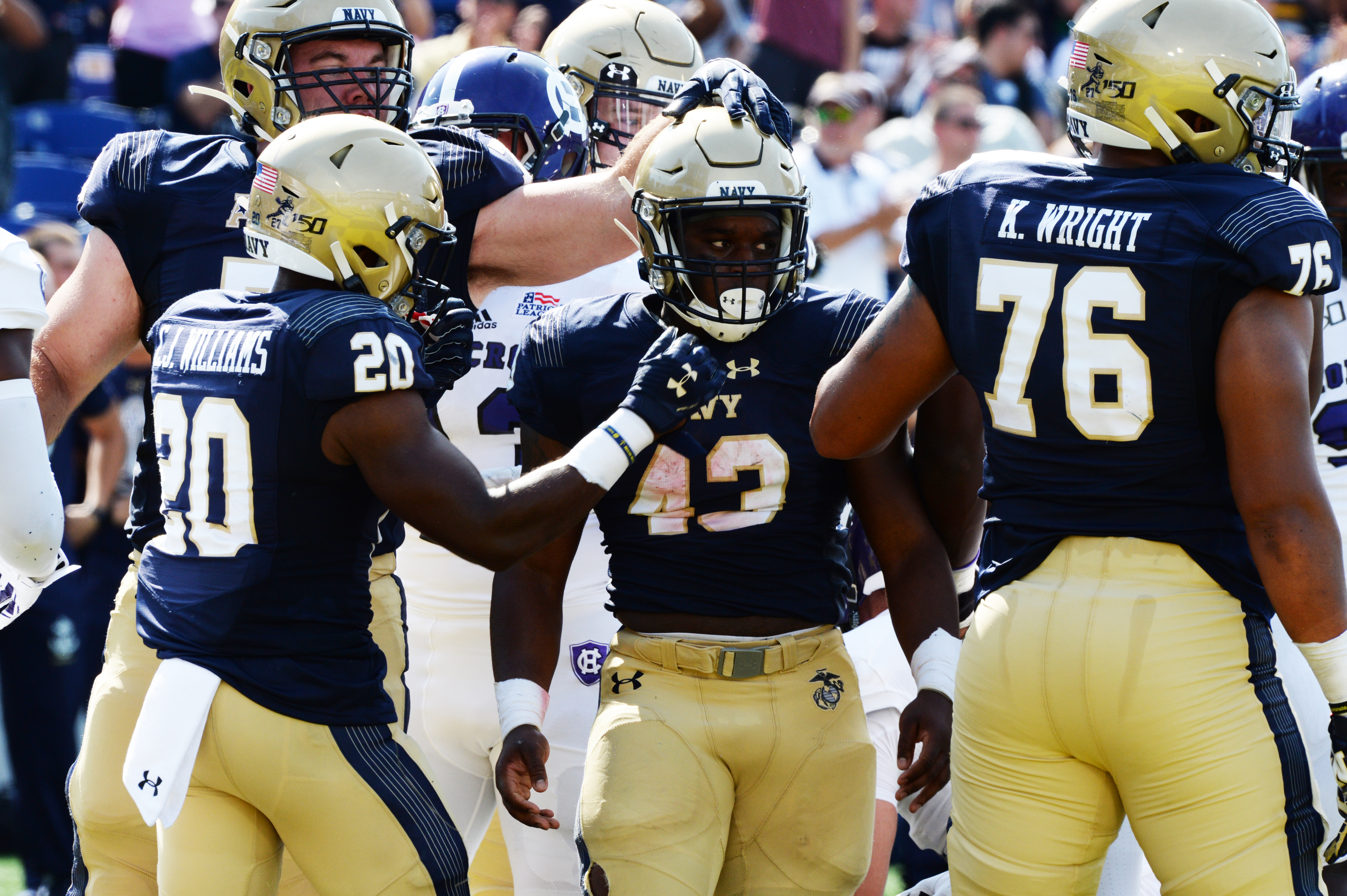 Navy moves into AP's Top 25 with win over UConn