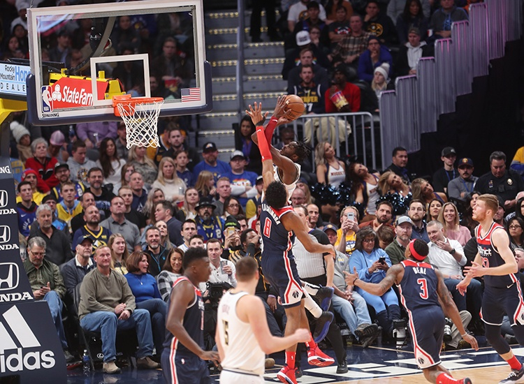 Rocky Mountain Low! Wizards Fall to Nuggets, 117-104