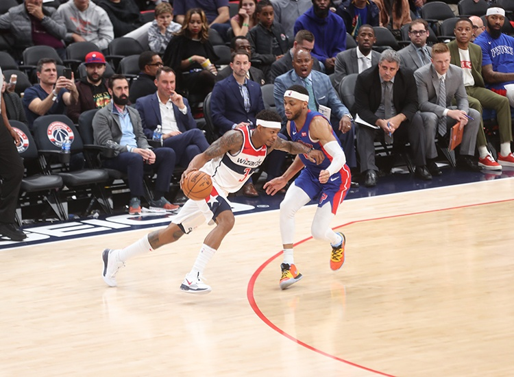 Wizards Get Back on Track With Victory Over Pistons, 115-99